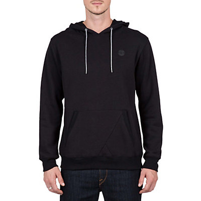 Volcom Single Stone Pullover Mens Hoodie, Dark Grey, viewer