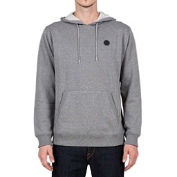 Volcom Single Stone Pullover Mens Hoodie, Dark Grey, 256