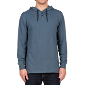 Volcom Murphy Thermal Hoodie, Airforce Blue, medium