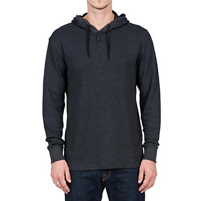 Volcom Murphy Thermal Hoodie, Black, viewer