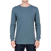 Volcom Randle Thermal Mens Shirt, Airforce Blue, medium