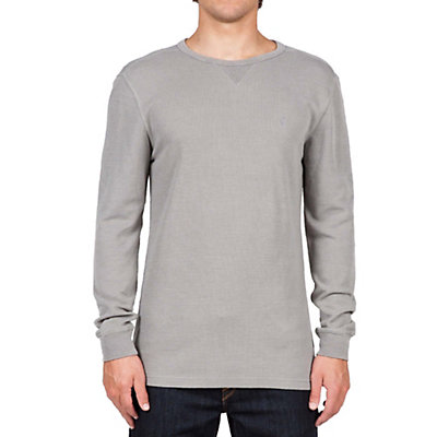 Volcom Randle Thermal Mens Shirt, Grey, viewer