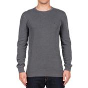 Volcom Randle Thermal Mens Shirt, Stealth, medium