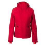 Mountain Force Samara Down Womens Insulated Ski Jacket, Chili-High Risk Red, medium