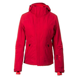 Mountain Force Samara Down Womens Insulated Ski Jacket, Chili-High Risk Red, 256