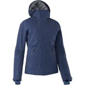 Mountain Force Samara Down Womens Insulated Ski Jacket, Peacoat-Indigo Blue, medium