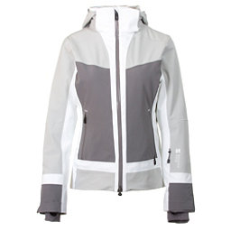 Mountain Force Cora Womens Insulated Ski Jacket, High Rise-Smoked Pearl-White, 256