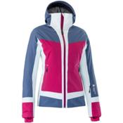 Mountain Force Cora Womens Insulated Ski Jacket, Indigo Blue-Cerise-White, medium