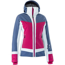 Mountain Force Cora Womens Insulated Ski Jacket, Indigo Blue-Cerise-White, 256