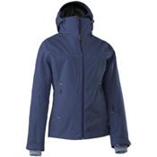 Mountain Force Elise Womens Insulated Ski Jacket, Peacoat-Indigo Blue, medium
