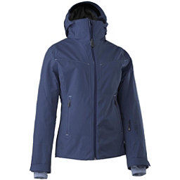 Mountain Force Elise Womens Insulated Ski Jacket, Peacoat-Indigo Blue, 256