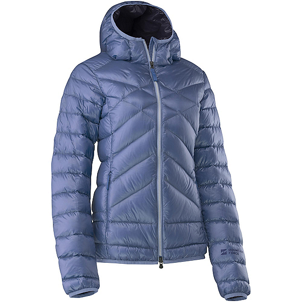 Mountain Force Cassia Down Womens Jacket, Indigo Blue-Peacoat, 600