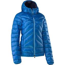 Mountain Force Cassia Down Womens Jacket, Sky Blue Tweed-Peacoat, 256