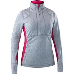 Mountain Force Raffia Shirt Womens Mid Layer, Cerise, 256