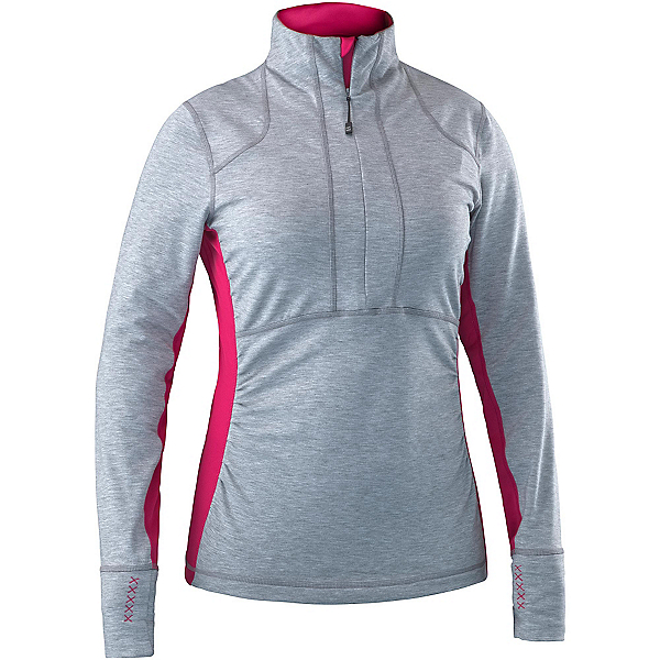 Mountain Force Raffia Shirt Womens Mid Layer, Cerise, 600