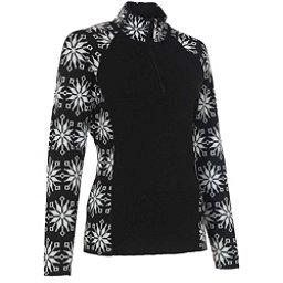 Neve Designs Ali Zip-Neck Womens Sweater, Black, 256