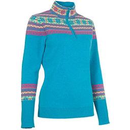Neve Designs Caroline Zip-Neck Womens Sweater, Blossom, 256