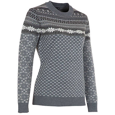 Neve Designs Sadie Womens Sweater, Charcoal, viewer