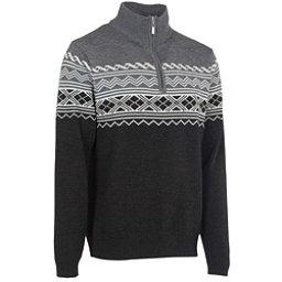 Neve Designs Lars Zip-Neck Mens Sweater, Black, 256