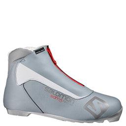 Salomon Siam 5 Prolink Womens NNN Cross Country Ski Boots 2017, Grey, 256