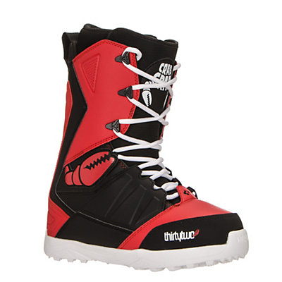 ThirtyTwo Lashed Crab Grab Snowboard Boots, Black-Red, viewer