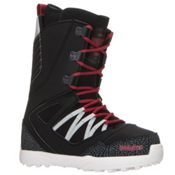 ThirtyTwo Light JP Snowboard Boots 2017, Black-Grey-Red, medium