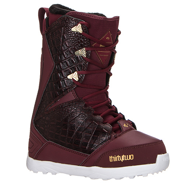 ThirtyTwo Lashed Womens Snowboard Boots, Burgundy, 600