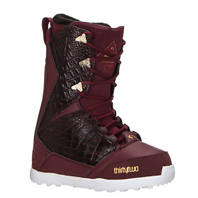 ThirtyTwo Lashed Womens Snowboard Boots 2017, Burgundy, viewer