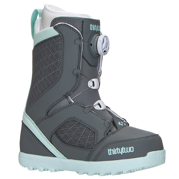 ThirtyTwo STW Boa Womens Snowboard Boots 2017, Grey, 600