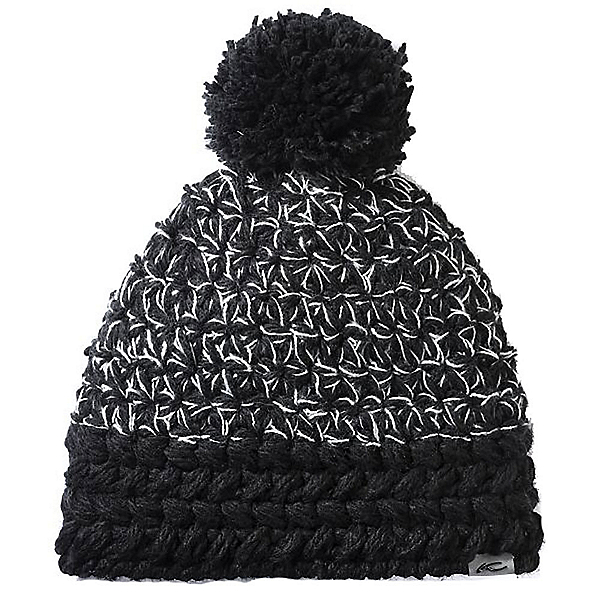 KJUS Brenda Womens Hat, Black-White, 600