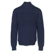 KJUS Julier Mens Sweater, Atlanta Blue, medium