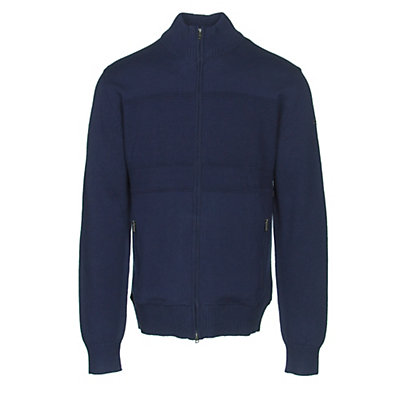 KJUS Julier Mens Sweater, Atlanta Blue, viewer