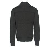 KJUS Julier Mens Sweater, Black Melange, medium