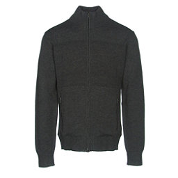 KJUS Julier Mens Sweater, Black Melange, 256