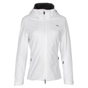 KJUS Formula Womens Insulated Ski Jacket, White, medium