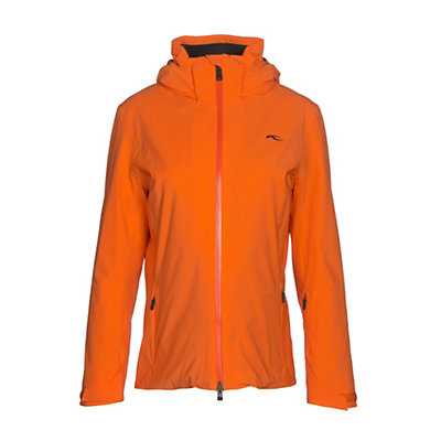 KJUS Formula Womens Insulated Ski Jacket, Kjus Orange, viewer