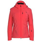 KJUS Edelweiss Womens Insulated Ski Jacket, Geranium, medium