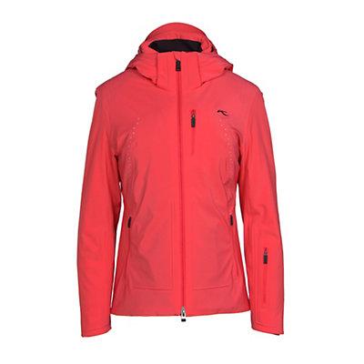 KJUS Edelweiss Womens Insulated Ski Jacket, Geranium, viewer