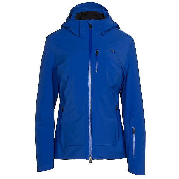 KJUS Edelweiss Womens Insulated Ski Jacket, Alaska Blue, 600