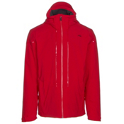 KJUS Sight Line Mens Insulated Ski Jacket, Scarlet, medium