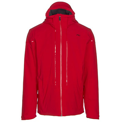 KJUS Sight Line Mens Insulated Ski Jacket, Scarlet, viewer