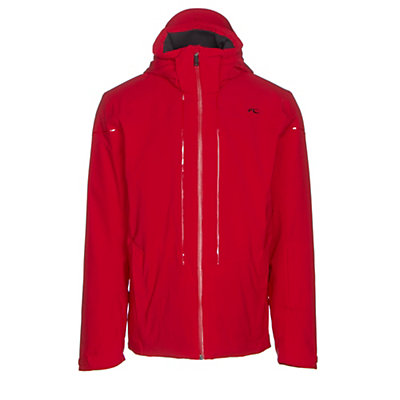 KJUS Sight Line Mens Insulated Ski Jacket, Scarlet, viewer