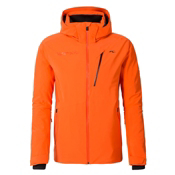 KJUS Formula Mens Insulated Ski Jacket, Kjus Orange, medium