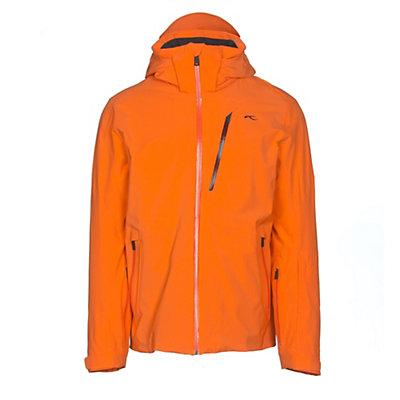 KJUS Formula Mens Insulated Ski Jacket, Kjus Orange, viewer