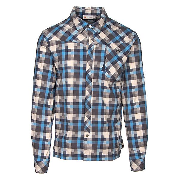 KJUS FRX Mens Flannel Shirt, Oatmeal-Marina, 600