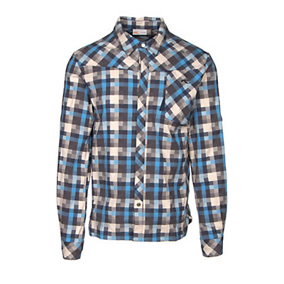 KJUS FRX Mens Flannel Shirt, Oatmeal-Marina, viewer