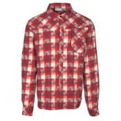 KJUS FRX Mens Flannel Shirt, Zinfandel-Biking Red, medium