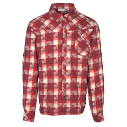 KJUS FRX Mens Flannel Shirt, Zinfandel-Biking Red, 256