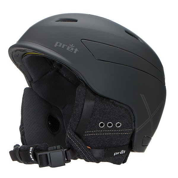 Pret Effect X Helmet 2017, Rubber Jet Black, 600