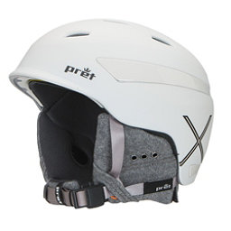 Pret Effect X Helmet, Rubber Pearl Chalk, 256